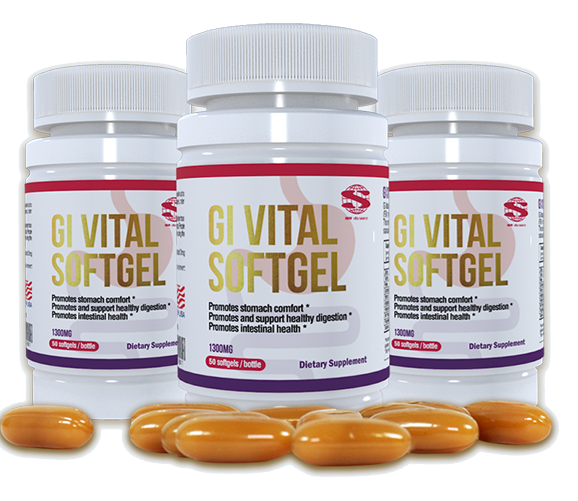 Norland Mebo GI Vital Softgel / Capsules For Ulcers, Reflux & Hepatitis